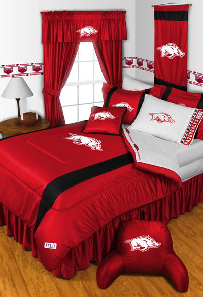 Arkansas Razorbacks Comforter Set