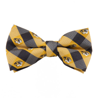Missouri Tigers Check Bow Tie | Eagles Wings | 2342