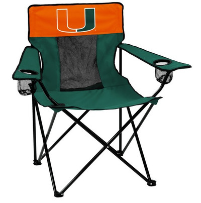Miami Hurricanes Elite Tailgate Chair