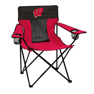 Wisconsin Badgers Elite Tailgate Chair