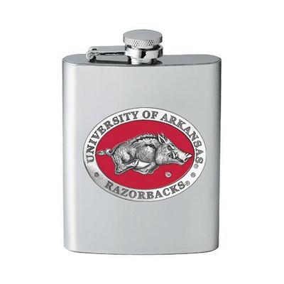 Arkansas Razorbacks Flask