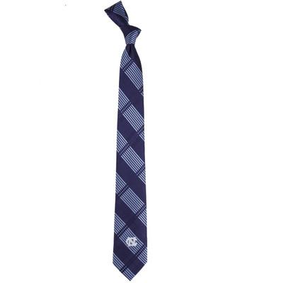 UNC Tar Heels Plaid Skinny Tie