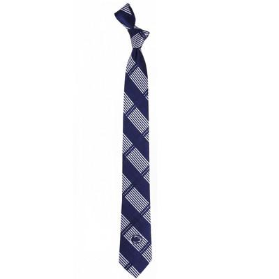 Penn State Nittany Lions Plaid Skinny Tie