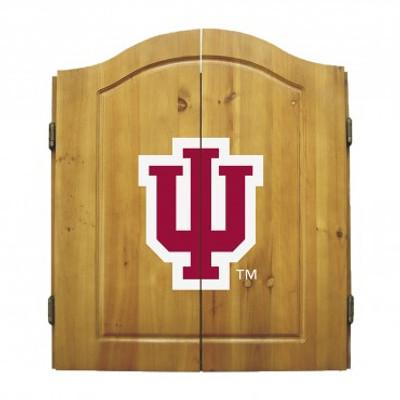 Indiana Hoosiers Dart Board Cabinet