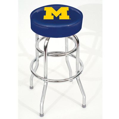 Michigan Wolverines Bar Stool