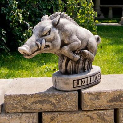 Arkansas Razorbacks Vintage Mascot Garden Statue