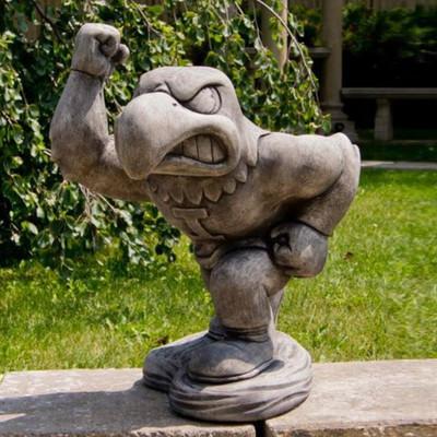 Iowa Hawkeyes Vintage Mascot Garden Statue