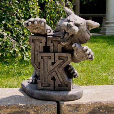 Kentucky Wildcats Vintage Mascot Garden Statue