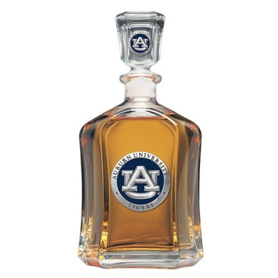 Auburn Tigers Capitol Decanter
