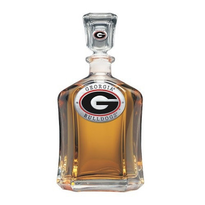 Georgia Bulldogs Capitol Decanter