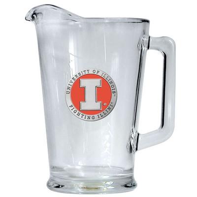 Illinois Fighting Illini Beer Pitcher