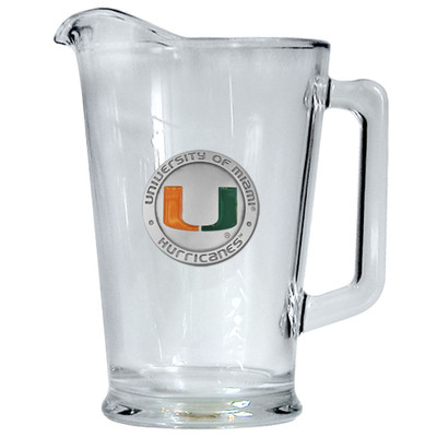 Miami Hurricanes Beer Pitcher