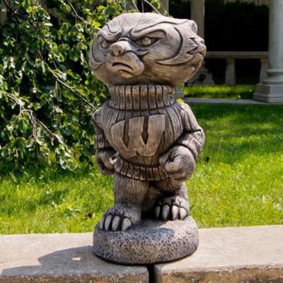 Wisconsin Badgers Vintage Mascot Garden Statue
