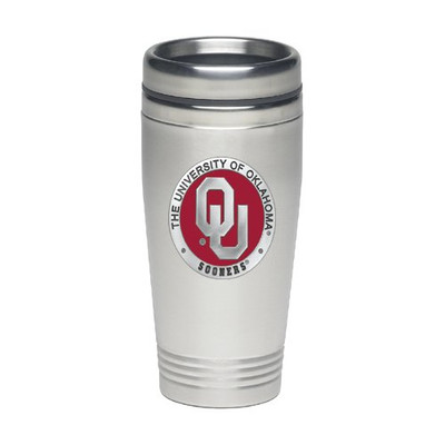 Oklahoma Sooners Thermal Travel Coffee Mug