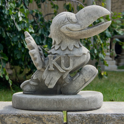 Kansas Jayhawks Vintage Mascot Garden Statue | Stonecasters | 2994TR