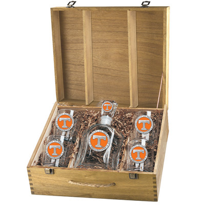Tennessee Volunteers Capitol Decanter Box Set