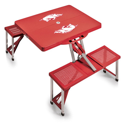 Arkansas Razorbacks Folding Picnic Table