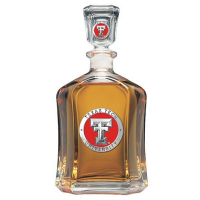 Texas Tech Red Raiders Capitol Decanter | Heritage Pewter | CPT10146ER