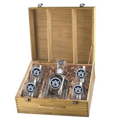 Auburn Tigers Capitol Capitol Decanter Box Set