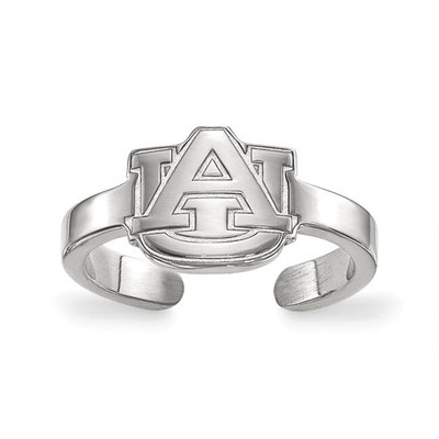 Auburn University Logo Sterling Silver Toe Ring