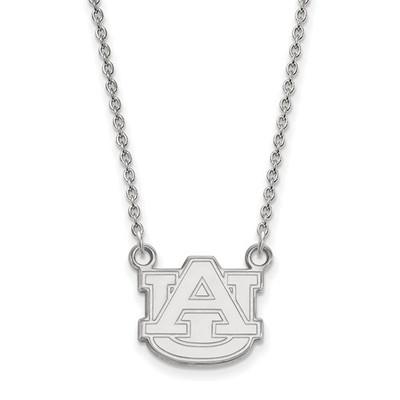 Auburn University Logo Sterling Silver Pendant Necklace