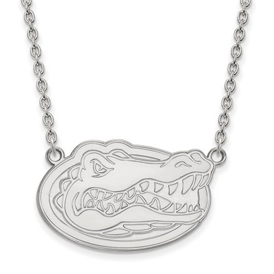 Florida Gators Sterling Silver Pendant Necklace