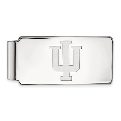 Indiana Hoosiers Sterling Silver Money Clip