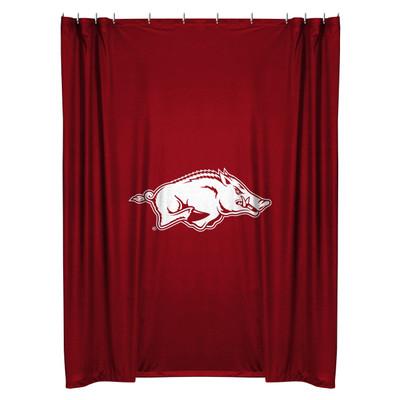Arkansas Razorbacks Shower Curtain