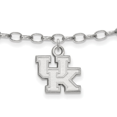 Kentucky Wildcats Sterling Silver Ankle Bracelet
