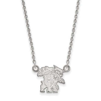 Kentucky Wildcats Sterling Silver Pendant Necklace
