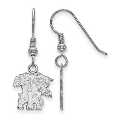Kentucky Wildcats Sterling Silver Dangle Earrings