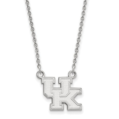 Kentucky Wildcats UK Sterling Silver Pendant Necklace