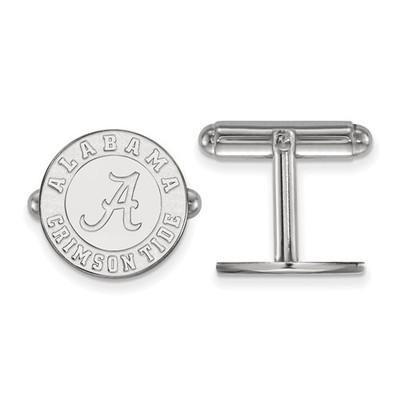 Alabama Crimson Tide Sterling Silver Cufflinks