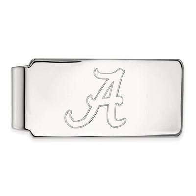 Alabama Crimson Tide A Sterling Silver Money Clip