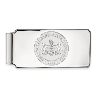 Penn State Nittany Lions Crest Sterling Silver Money Clip