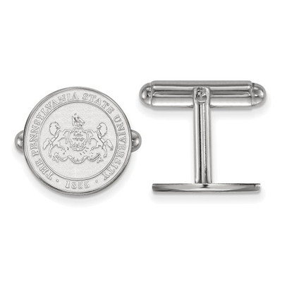 Penn State Nittany Lions Crest Sterling Silver Cufflinks