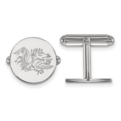 South Carolina Gamecocks Sterling Silver Cufflinks