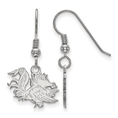 SC Gamecocks Sterling Silver Dangle Earrings