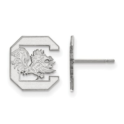 South Carolina C Gamecocks Sterling Post Earrings
