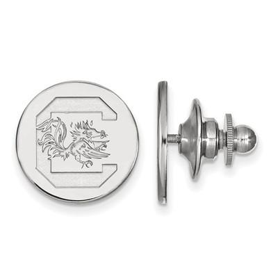 South Carolina C Gamecocks Sterling Silver Lapel Pin