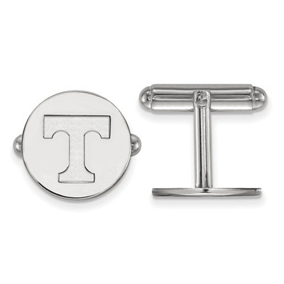 Tennessee Volunteers T Sterling Silver Cufflinks