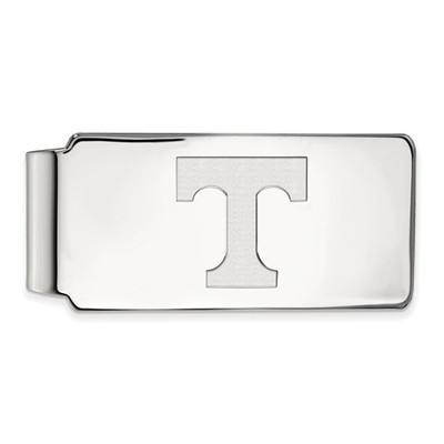 Tennessee Volunteers T Sterling Silver Money Clip