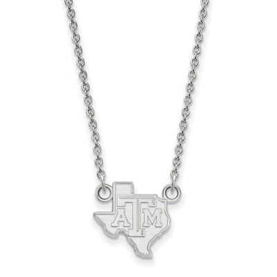 Texas A&M Aggies Sterling Silver Pendant Necklace