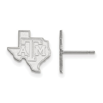 Texas A&M Aggies Sterling Silver TX Post Earrings