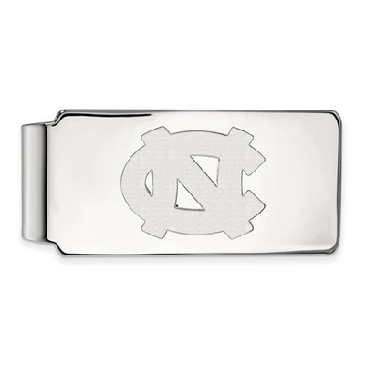 UNC Tar Heels Sterling Silver Money Clip | Logo Art | SS022UNC