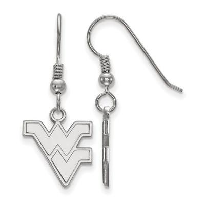 WV Mountaineers Sterling Silver Dangle Earrings