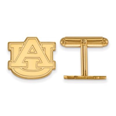 Auburn Tigers AU Logo 14K Gold Cufflinks
