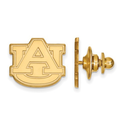 Auburn Tigers AU Logo 14K Gold Lapel Pin