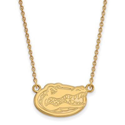 Florida Gators Gator Head 14K Gold Pendant Necklace