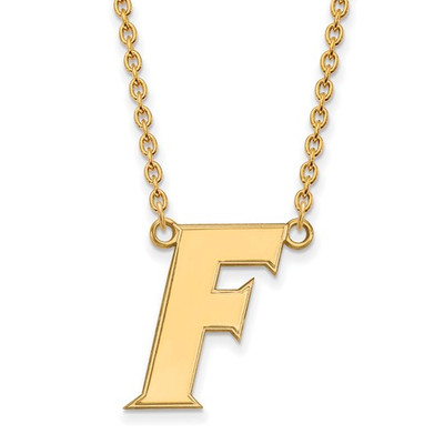Florida Gators F Logo 14K Gold Pendant Necklace